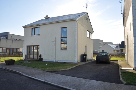 For auction, Enniscrone holiday home, reserve price €55,000.