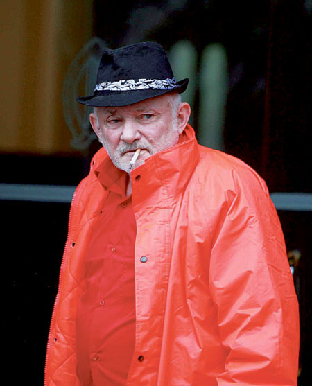 Joe Finnerty of Turlough, Rosmuc, pictured at Galway District Court on Monday. Photo: Hany Marzouk.