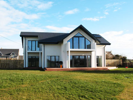 A Passive House at Athenry.