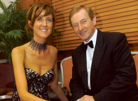 Pictured enjoying the Mayo Dublin Association dinner earlier this year is Michelle Mulherin TD with An Taoiseach, Enda Kenny TD.