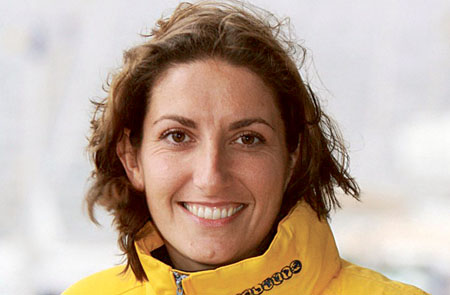 Britain's famous female sailor, Dee Caffari MBE.