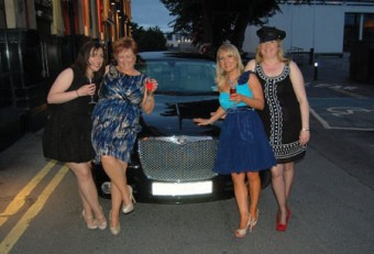 Birthday girl Emer Fitzpatrick and her friends enjoyed her VIP night at The Prince