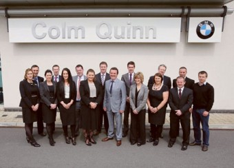 The team at Colm Quinn