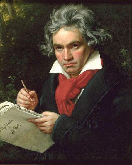 Ludwig van Beethoven - his music will be performed in Claregalway this month.