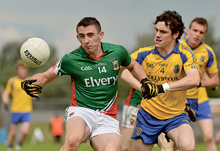 Mayo's Shane Hennelly and his teammates will go into tomorrows game against Tipparary as underdogs. Photo:Sportsfile