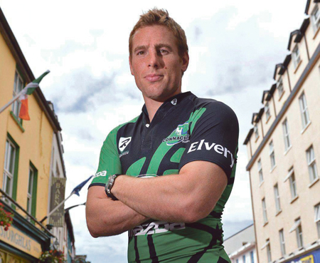 Connacht's Gavin Duffy. Photo: Diarmuid Greene