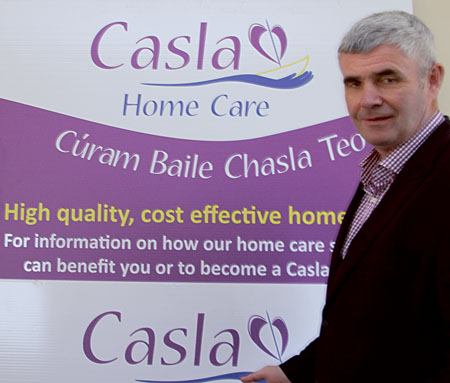 Casla Home Care was set up by local entrepreneur Pádraig Ó Céidigh.