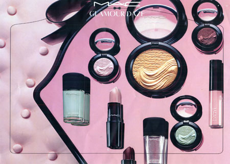 True colours: Use powder blush in Rose Tan or Blue Pink to define your cheeks and lipstick in outrageously fun to bring warmth to your lips. All cosmetics from MAC at Brown Thomas.