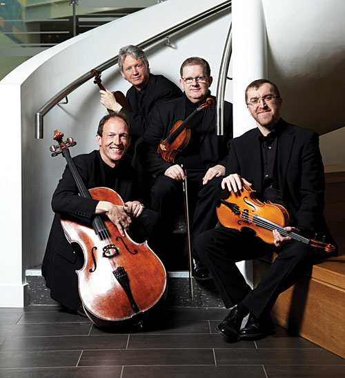 Classical heaven: the RTÉ Vanbrugh String Quartet  performs with violin virtuoso Nobuko Imai at the Linenhall Arts Centre on Monday, November 26 at 8pm.