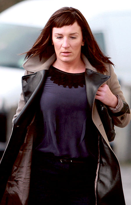 Maura Thornton pictured arriving at the Central Criminal Court sitting at Galway Courthouse:  Photo: Hany Marzouk