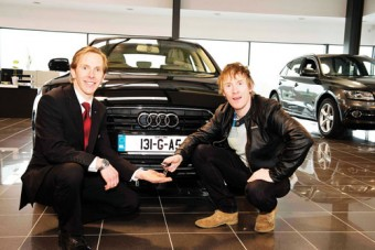 Hector is new ambassador for Audi Galway