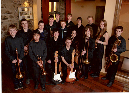 Galway Youth Jazz Orchestra.
