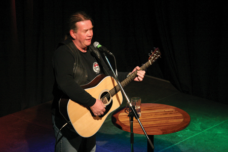 Back on stage in Ballina: Singer/songwriter Dick Gaughan will be in Ballina Arts Centre on Saturday, April 20 at 8pm.