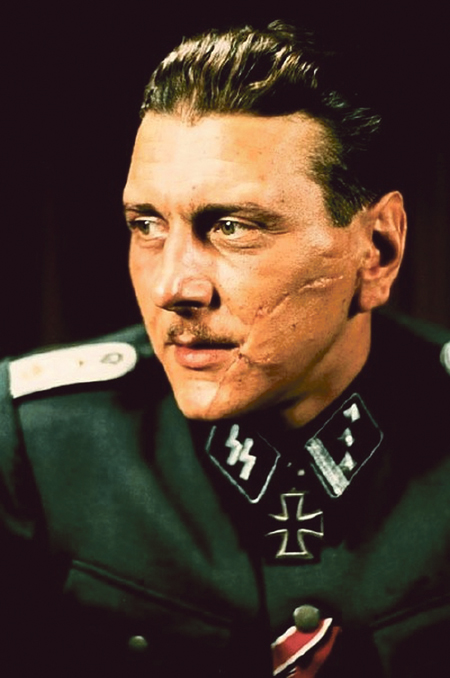 Otto Skorzeny, the chief villain in Stuart Neville's new novel Ratlines.