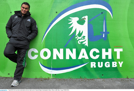 Incoming Connacht coach Pat Lam brings his passion for rugby to his new province.
