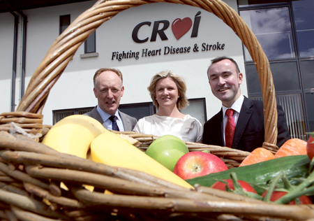 Pictured at the Croi Heart and Stroke Centre Galway to mark the launch of a new MSc in preventive cardiology, being the first in Ireland, are (from left to right); Neil Johnson CEO Croi; Jenni Jones, director of prevention programmes, Croi Heart & Stroke Centre Galway; and Dr Gerard Flaherty, NUI Galway, MSc programme director.