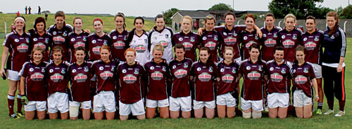 Galway u-21 Aishling McGing runners-up:  Back row: Lisa O'Neill, Laura Scanlon, Aine Higgins, Mairead Joyce, Nicola Kilgarrif, Tessa Mullins, Lisa Murphy, Leoine Higgins, Cliodhna Moloney, Tracy Leonard, Ina Butler, Sarah Lynch, Catriona Burke,  Chliodhna  Ni Cheallaigh, Ciara Newell, Lisa Murphy. Front row: Rebecca Sweeney, Shaunagh Jackson, Tara Hession, Rebecca Walsh, Aoife Newell, Amy Rohan (cpt),  Roisin Leonard, Chantal Muldoon, Chloe O'Malley, Orla Dixon, Cariosa McHugh, Aoife Ni Cheallaigh.