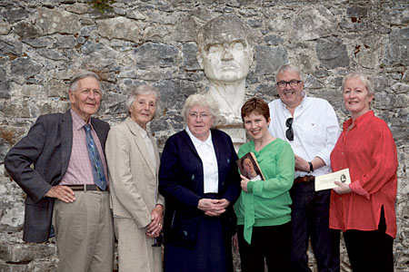 Sean Tobin, Lois Tobin, Sr Mary DeLourdes Fahy, Eileen O'Connor, Ronnie O'Gorman, Marion Cox pictured at the launch of Autumn Gathering 2013 — Women Writers running from October 3-7 at Coole Park.  Photograph by David Ruffles.