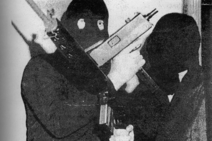 Official IRA gunmen photographed in the 1970s