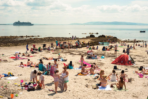 Salthill this week, pictured by Reg Gordon