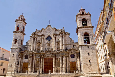 The Cathedral de San Cristobal, La Havana