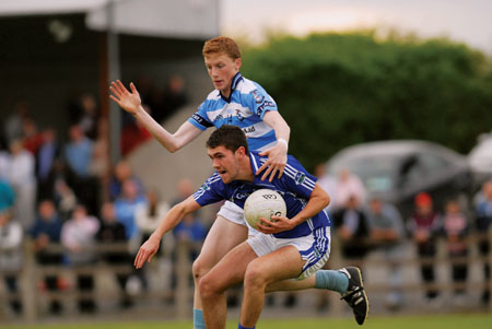 Ray Connellan is one of the many talented young Athlone players.  Photo: johnobrienimages.com