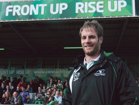 Connacht's new Super 15 winning captain Craig Clarke is set to line out for the province on Saturday after arriving in Galway last week.