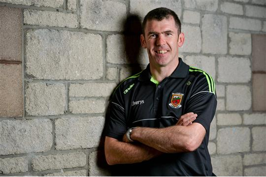 Putting the plans in place: Tom Prendergast is one of the key men in James Horan's backroom team. Photo:Sportsfile