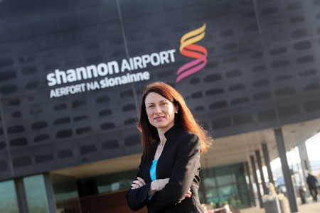 Mary Considine, director at Shannon Airport.