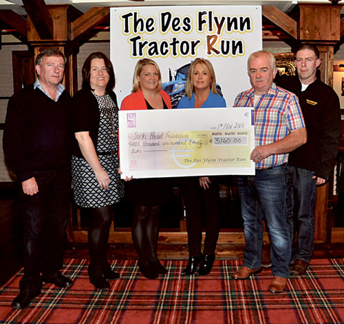 Advertiser ie - Tractor run raises €3,000 for charity