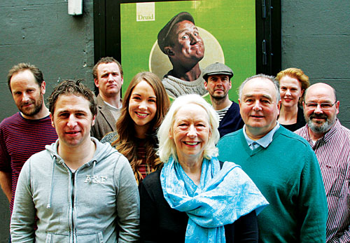 The cast of Druid's The Colleen Bawn. Photo:- Mike Shaughnessy.