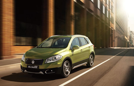 The new Suzuki S-Cross
