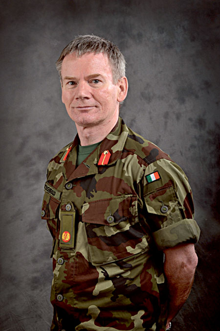 Brigadier General Derry Fitzgerald.