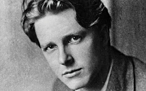 Rupert Brooke: Glorified dying for your country. The reality was a very different experience.