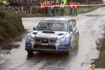 Rally winners Declan and Brian Boyle from Donegal.  Photo: Kevin O'Driscoll