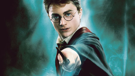 Daniel Radcliff as Harry Potter.