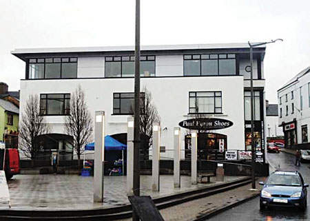 The prominent building in Market Square, which went for over half a million euro at the Allsop Space auction in Dublin this week.