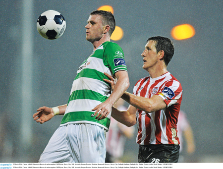 Ciaran Kilduff who grabbed a late equaliser against Derry.