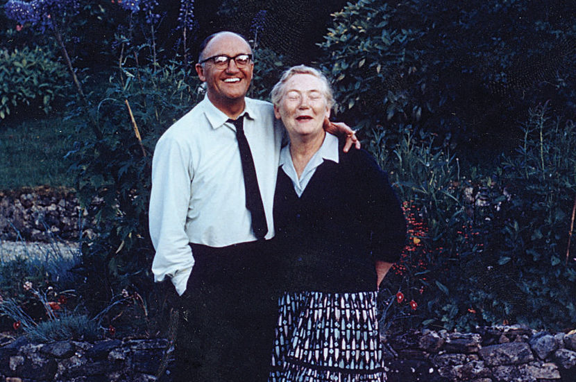 Love conquers all: Walter and Peggy Macken at their home near Oughterard.