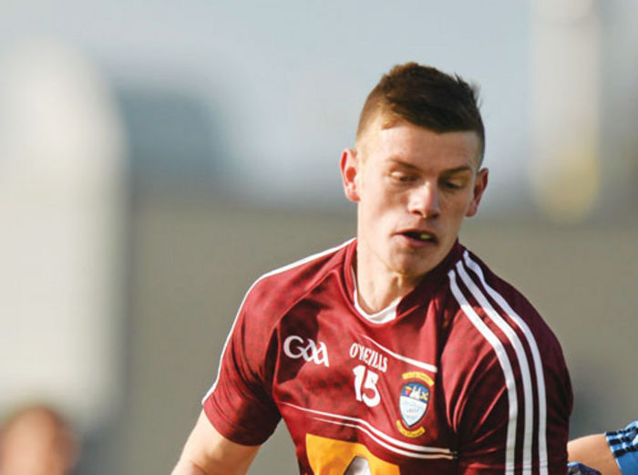 Westmeath talisman John Heslin may not be available for the May 17 clash. Photo: Sportsfile