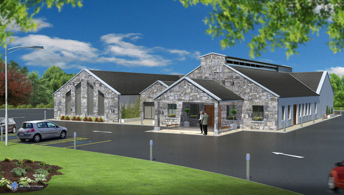 The planned crematorium at Ballinasloe.