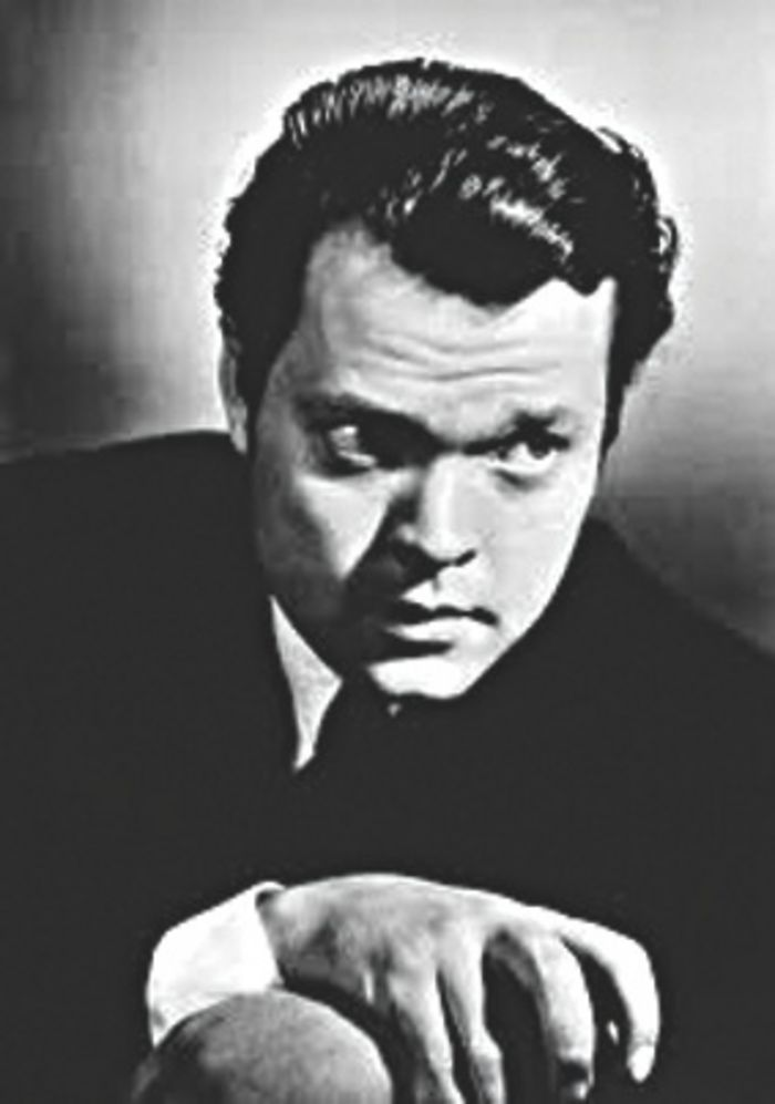 The young Orson Welles: slept by turf fires in Connemara.