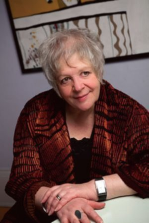 Liz Lochhead. Photo:- Norman McBeath.