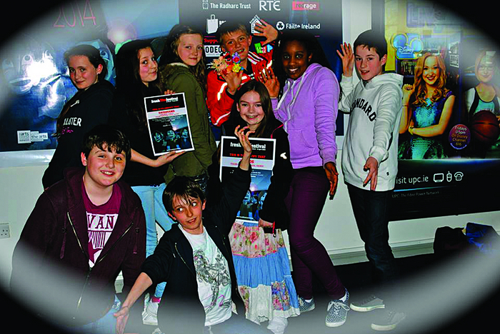 Trading Faces Film School students who appeared in the recent short films.