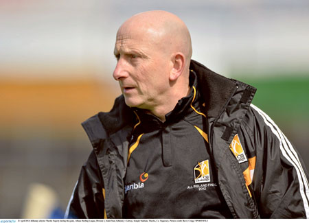 Kilkenny selector Martin Fogarty is now involved with Westmeath
