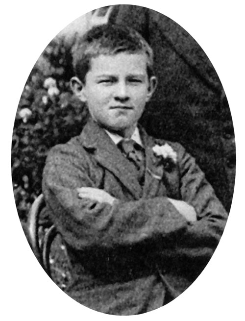 The young William Joyce taken from a group of  students about 1918 (The Jes - 150 years of the Jesuits in Galway).