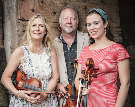 Alasdair Fraser, Natalie Haas and Mairéad Ni Mhaonaigh present The Iona Connection