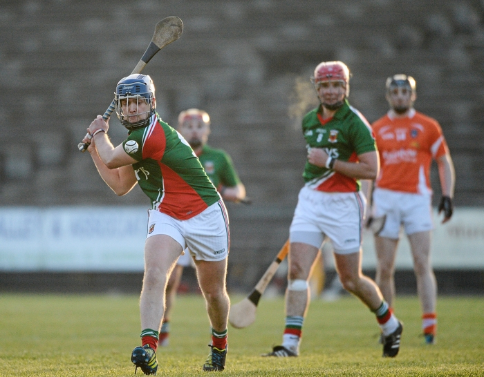 Ten points from Kenny Feeney wasn't enough to stop Mayo going down to Meath in MacHale Park on Saturday afternoon. Photo:Sportsfile