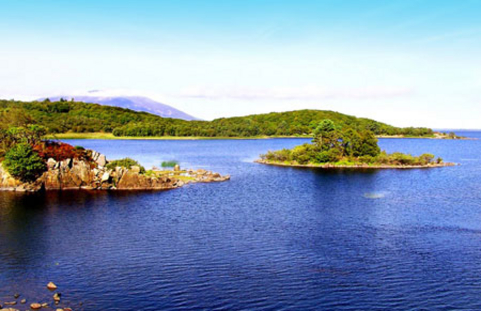 A scenic snap of Lough Conn taken from a viewing point in Pontoon. Image: GoogleMaps.