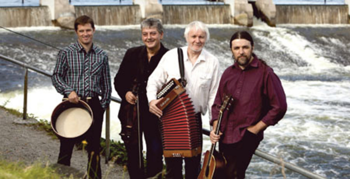 Jimmy Higgins, Cathal Hayden, Mairtín O'Connor, and Shamie O'Dowd.